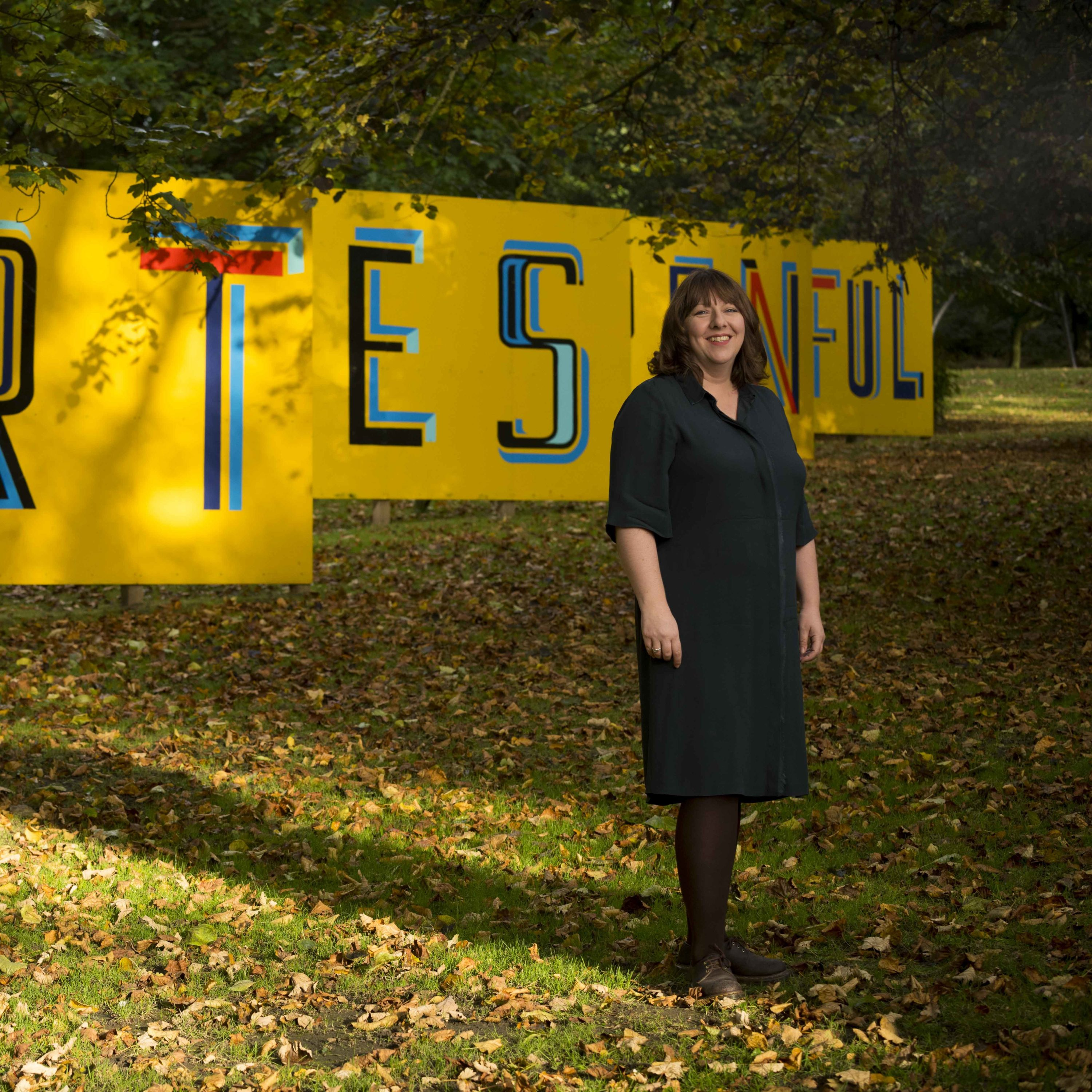 Photograph of Janette Robinson, Head of Learning at Yorkshire Sculpture Park