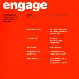 engage journal cover issue 1