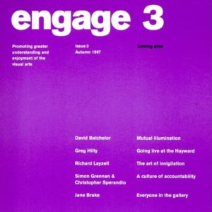 engage 3 journal cover